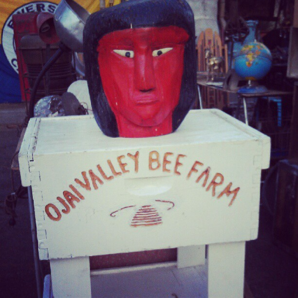 Is anyone looking to start their own bee hive? #Ojai #honey #fleamarketfind #MelroseTradingPost