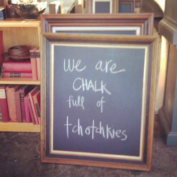 Direct quote from a #MelroseTradingPost #Disregardenflea customer! #chalk #quote #fleamarket #SundayFunday