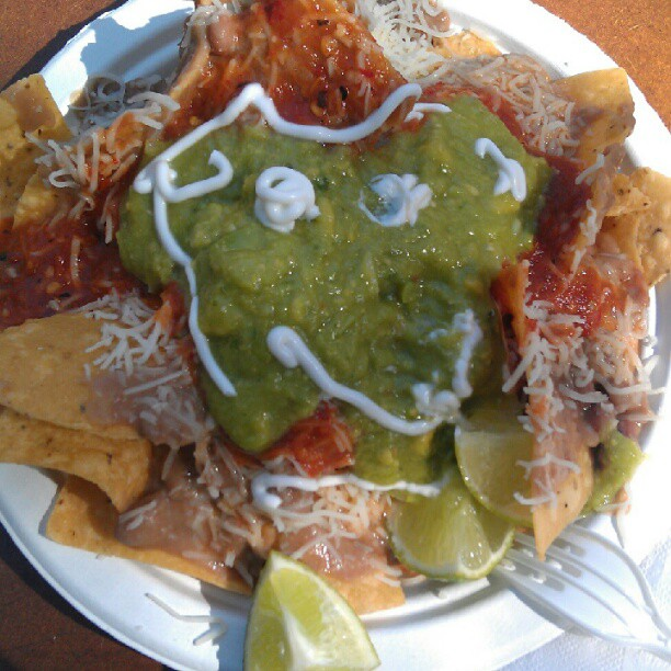 This week's #MelroseTradingPost Nacho Face.... #deliciousness #foodcourt #yum