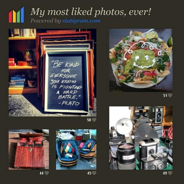 Our most popular instagram photos! #MelroseTradingPost #fleamarket