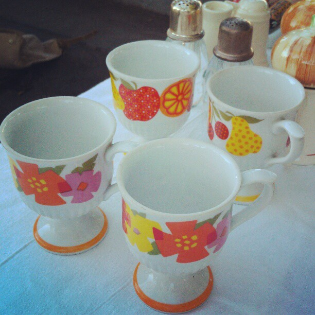 Thank you for sharing another #SundayFunday with us! #MelroseTradingPost #vintage #fleamarket #cups #midcentury