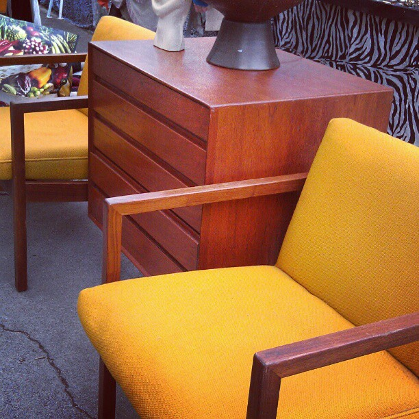 Vincent always hot furniture. #Melrosetradingpost #fleamarket #furniture #retro #midcentury