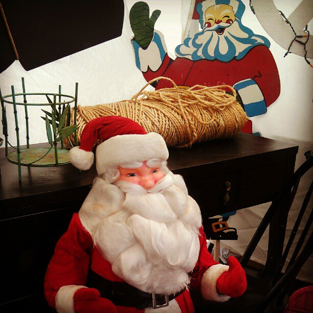 1950's Vintage Santas!!! #Melrosetradingpost #fleamarket #Christmas #Santa #soseasonal #holiday
