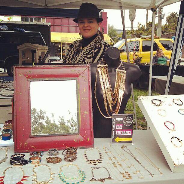 Michelle has gorgeous jewelry in G1!  #Melrosetradingpost #fleamarket #jewelry