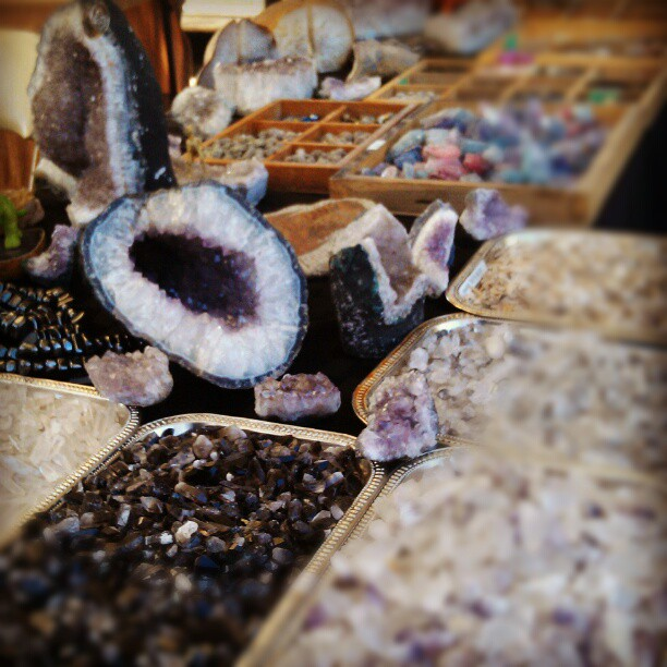 We can meet all of your crystal and mineral needs! #Melrosetradingpost #fleamarket #SundayFunday #crystal #nature #la