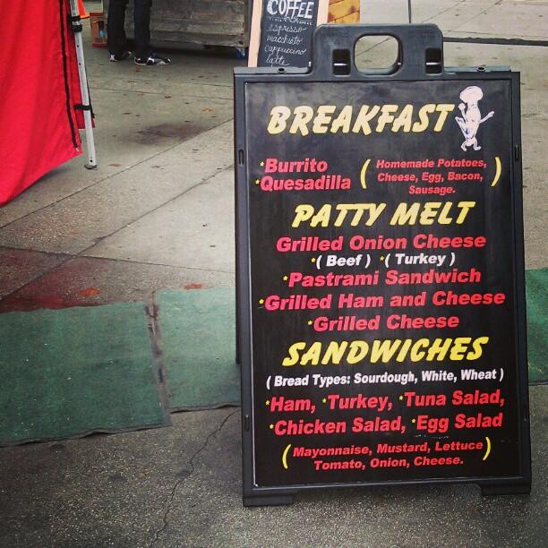 Tamales Alberto has new menu items!! #Melrosetradingpost #fleamarket #food