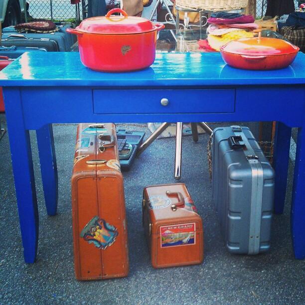 We love how Carmen sets up Y37! #Melrosetradingpost #fleamarket #vintage #retro #lastyle