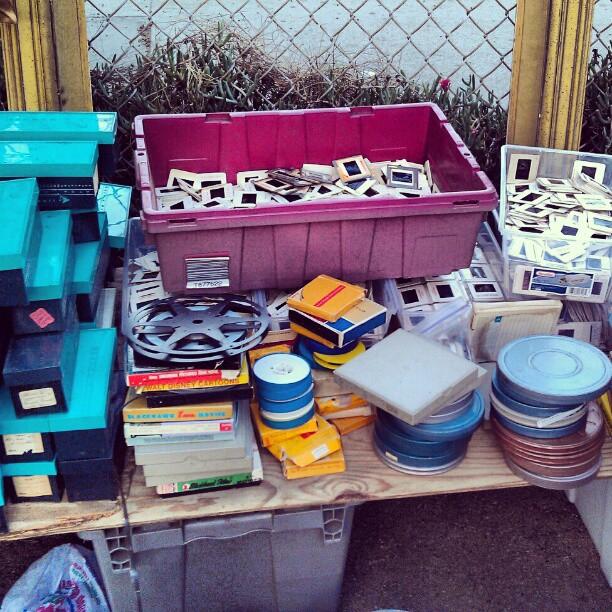 Slides and film reels galore!!! #Melrosetradingpost #fleamarket #film #photography