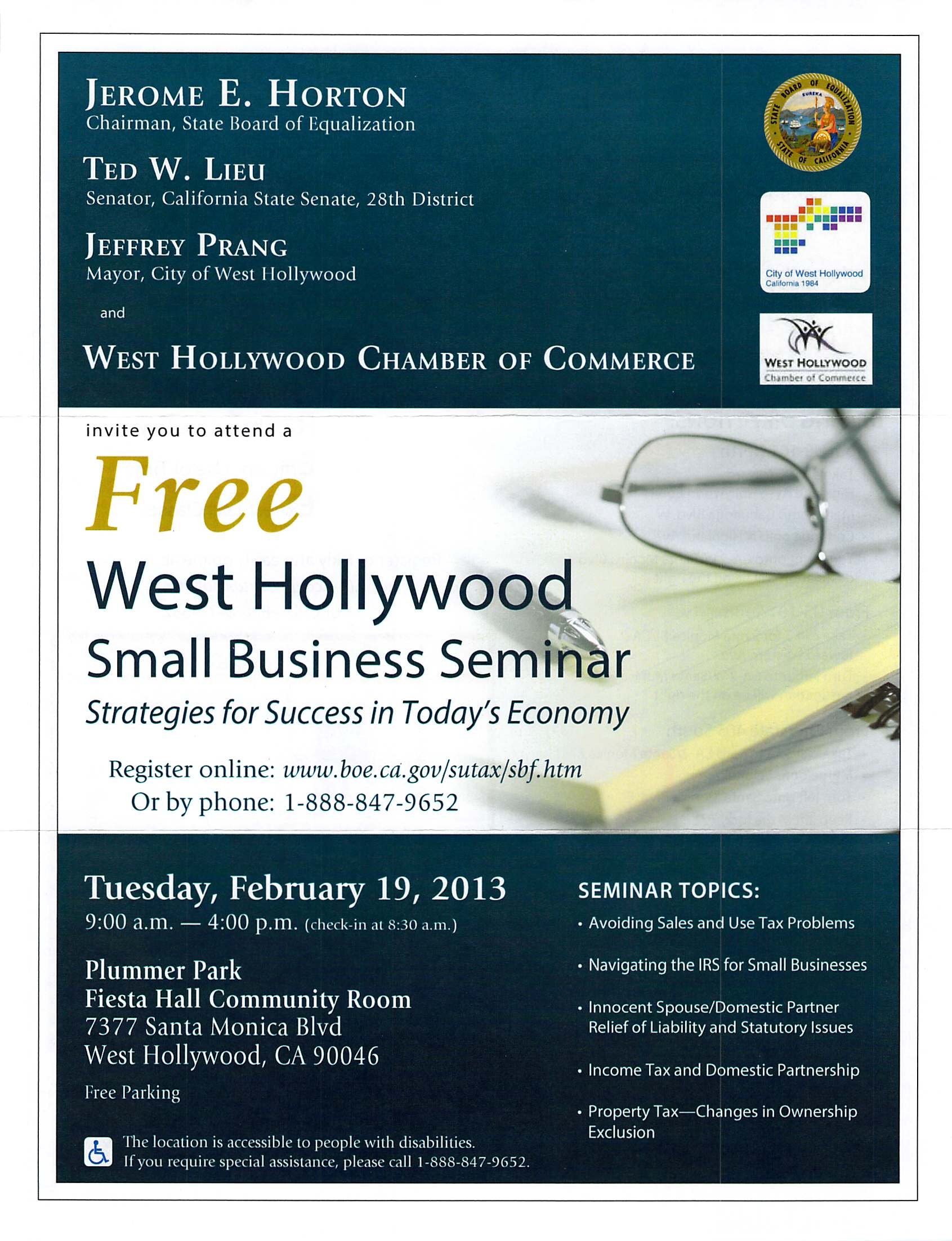 BOE Small Business Seminar Flyer Feb 2013_Page_1