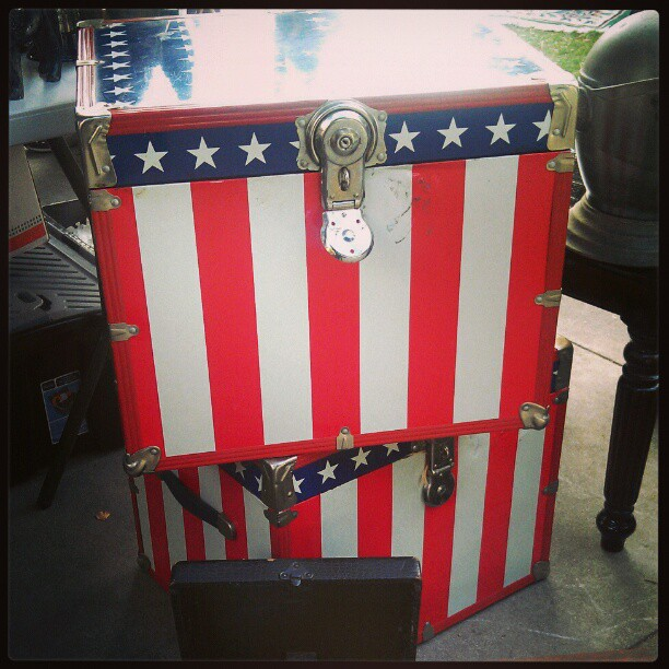 Thank you America for supporting The Melrose Trading Post! #fleamarket #USA #patriot #LA
