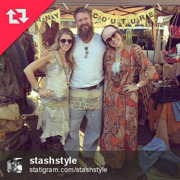 This sweet post by @stashstyle has our lovely regular vendor, Brooke of @Carnycouture! #Melrosetradingpost #fleamarket #LA #carnycouture #lastyle