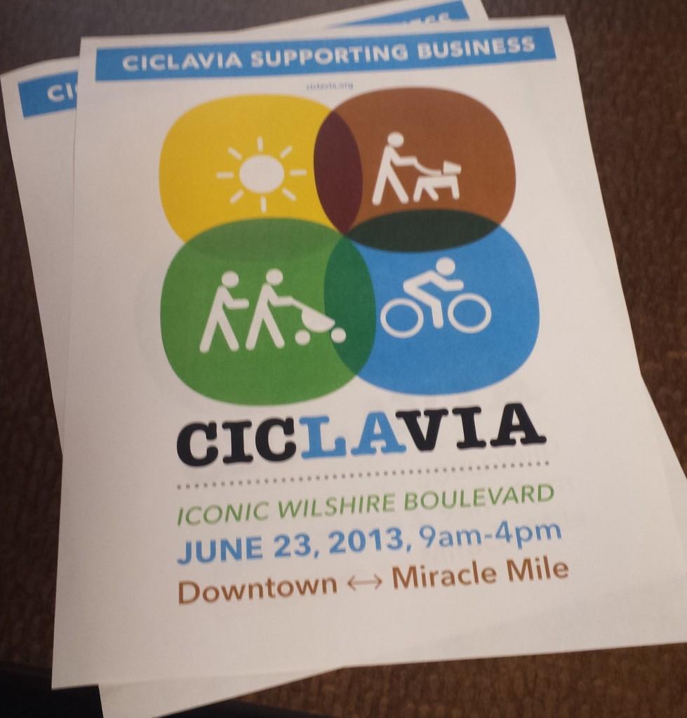 ciclavia wilshire june 23 2013