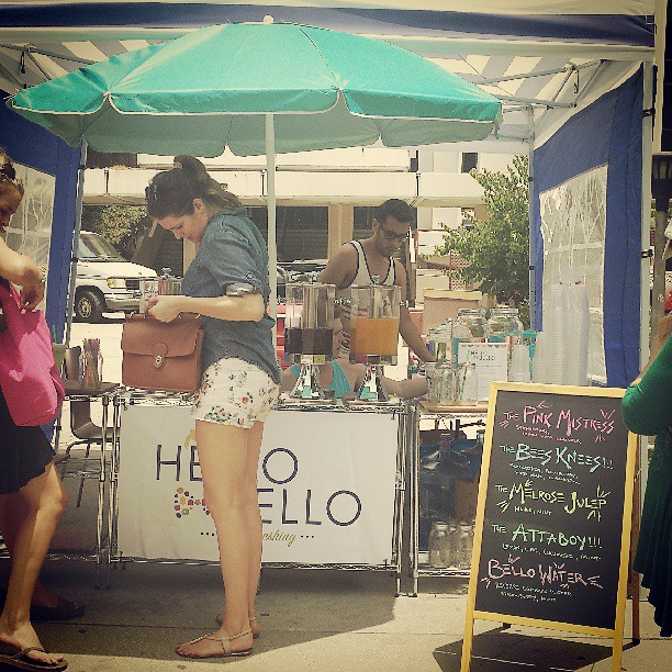 Cool off with a healthy refresher from @drinkhellobello! They have a new flavor called AttaBoy!