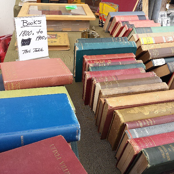 Books from the 1800s in Y29!!