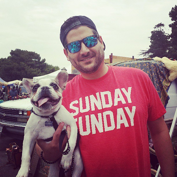 We LOVE everything about this picture. Thank you LA for another amazing #sundayfunday!