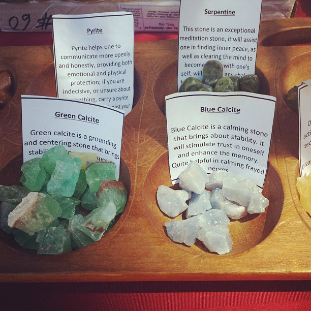 Buy crystals and learn about them too in B149!
