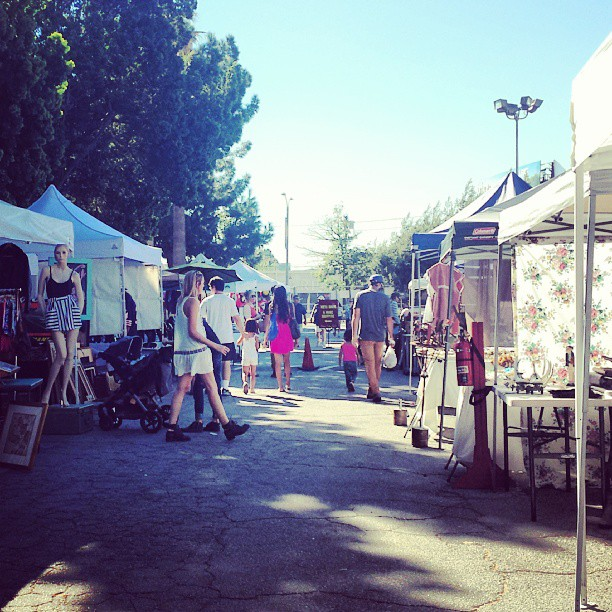 What a lovely flea market day!