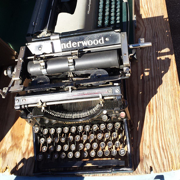 Typewriters always look dreamy!