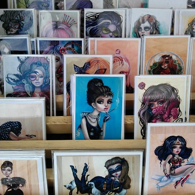 B52 has these gorgeous prints and original paintings!