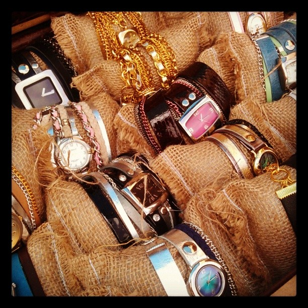 Check out a new vendor in B59 @prettyforpeanuts who creates beautiful #braceletwatches