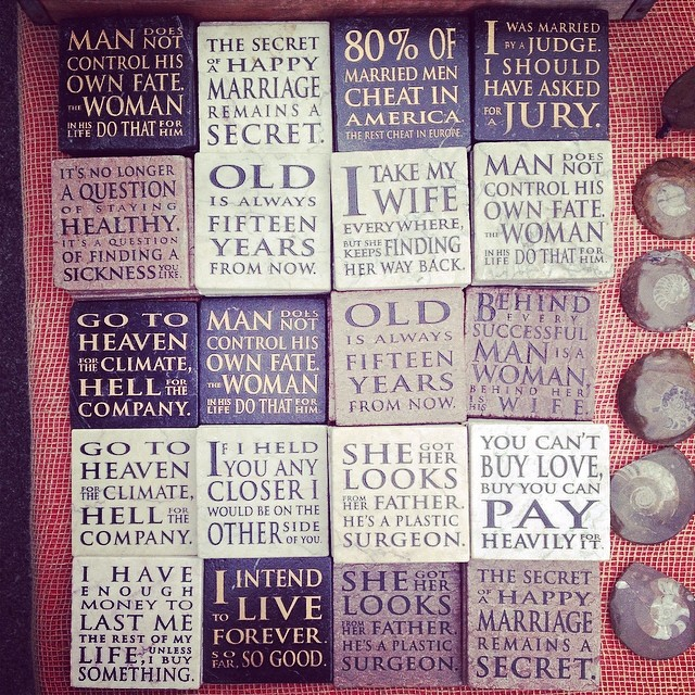 Inspirational tiles...
