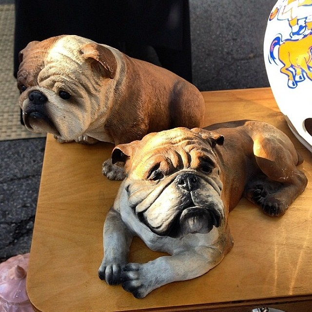 These Pups need homes and we promise you won't be allergic to them! Find them in booth p93, @reds_antiques!