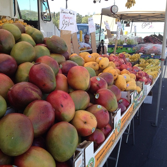 Fresh, delicious local produce... Come and get it!
