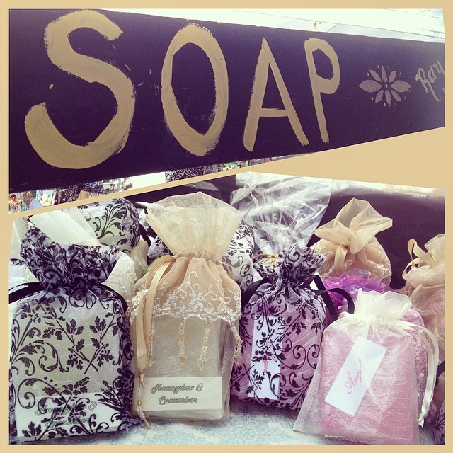 Ray of Soap has the best bars! Pick up a few - one for yourself a a few for friends!