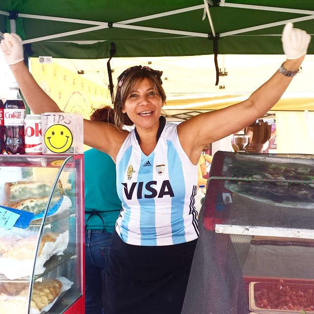 Our vendors are ready for the #WorldCup! #MTPfairfax #Argentina