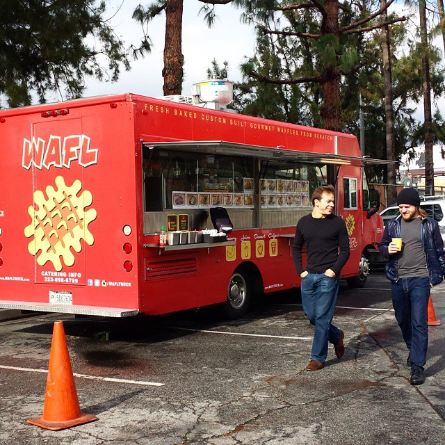 The Wafl Truck is in the houuuse!! #MTPfairfax #yum #waffles