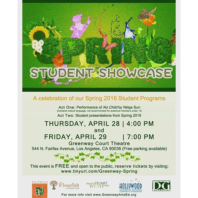 Thank you to everyone who shared their #SundayFunday with us!  If you'd like to see what else we do, come check out the @greenwayartsed Spring Student Showcase! - Tickets are FREE, just reserve online.Showtimez: Thur 4/28 @ 4PM & Fri 4/29 @ 7 PM At the Greenway Court Theatre. Visit TinyUrl.com/Greenway-Spring to reserve your seat! #MTPfairfax #GreenwayArts #GreenwayCourt