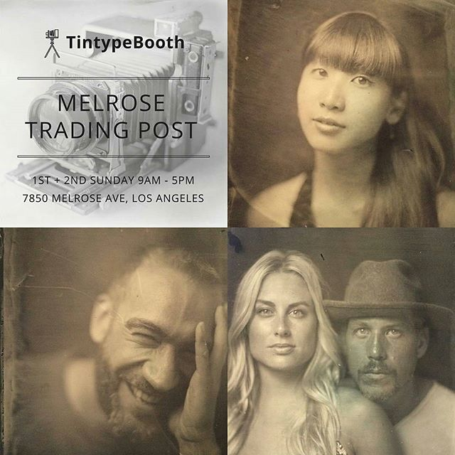 Love the #tintype photos from @jasonmads Tin Type Booth?You can catch him every 1st and 2nd Sundayof the month!#MTPfairfax #ShopLocal #TinTypeBooth