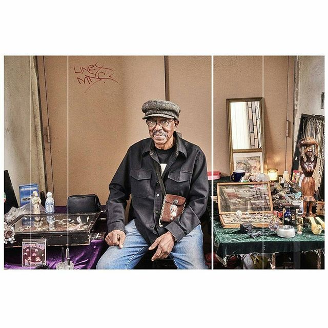 Repost from @5ive1ne4our -  thank you for taking this stunning photo of one of the sweetest men in the world, collector and music lover, Lance. Lance is at the market every Sunday in B69 by the men's restroom.#mtpfairfax #PeopleOfMTP#melrosetradingpost #fairfax #melrose#losangeles #california#collectors