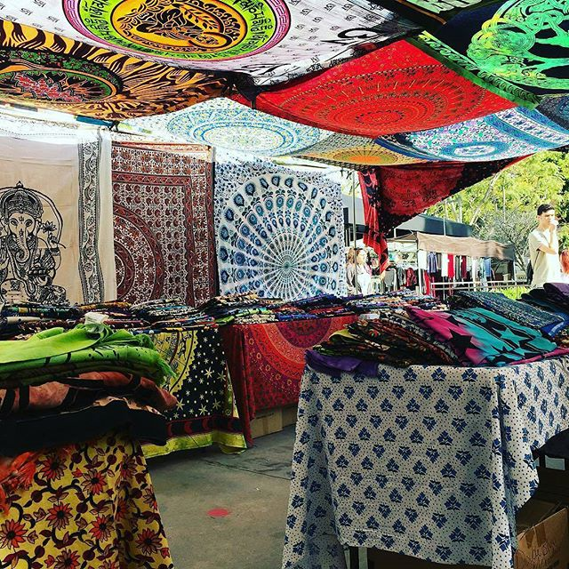 Stuart, the @tapestryguru, is your local source for gorgeous tapestries and posters.  He sets up every Sunday in B21 along #Fairfax Avenue.His beautiful booth is so inspiring!#MelroseTradingPost #mtpfairfax #melrose #losangeles #california #sundayinla #tapestryguru #fleamarket #SundayFunday