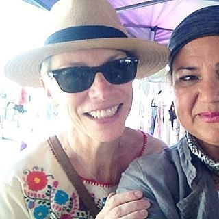 The ever-lovely Sabrina of @lahipthreads had a surprising customer at the #melrosetradingpost... Annie Lennox!! Repost:  Dreams are made of this... ️ Annie Lennox shopping with LAHT .#vintagefashion #muse #sundaystyle #style #followyourdreams#everybodyislookingforsomething #gratitude #arttowear #vintage #bohemian #shoppingwithus #annielennox #Mtpfairfax  #iconic #music #artist #80s #diva #losangeles #california #Sundayfunday #shoplocalla #sundayinla #shoplocal  #sweetdreamsaremadeofthis : @lahipthreads