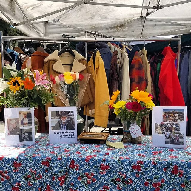 Rest in Peace Mike Kijak.You were a wonderful friend with the warmest smile. Thank you to everyone who came to celebrate his life!#PeopleofMTP #Melrosetradingpost #Mtpfairfax #melrose #fairfax #fleamarket #losangeles #california #Sundayfunday #shoplocalla