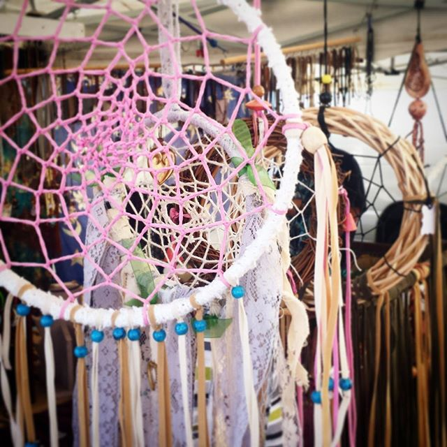 What is your dream? #vintage #dreamcatchers #melrosetradingpost #losangeles #california #fleamarket