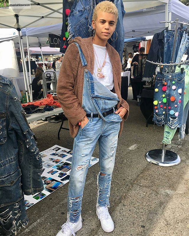 Stylish!! #melrosetradingpost #fleamarket #losangeles #california #Repost from @mariahlawson with @regram.app ... Switch it up ... Swaggy Sunday's at @melrosetradingpost with @ripd.denim