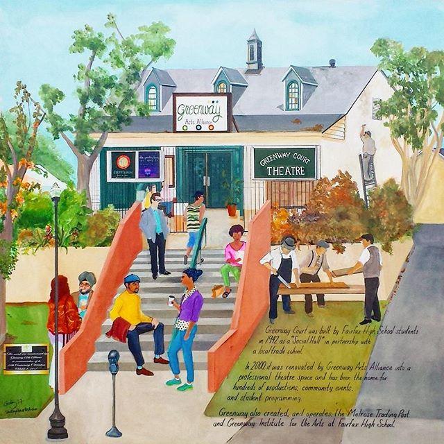 #melrose art #melrosetradingpost #losangeles #California #fleamarketsunday