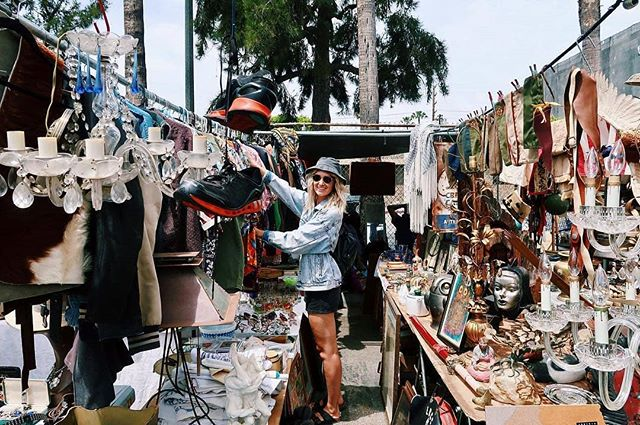 The market is ready for your Sunday Funday treasure hunting!...Repost from @_hayley.moore_: In my element searching for all the best vintage #melrosetradingpost#Mtpfairfax #melrose #fairfax #fleamarket #losangeles #california #communitymarket #Greenwayarts #fairfaxhs