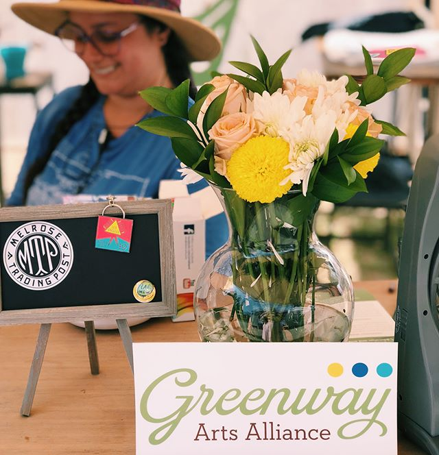 GREENWAY X Melrose Trading Post is here!!! Did you know MTP is a program of Greenway Arts Alliance, which also houses the Greenway Court Theatre? A purchase at the pop up shop supports the arts education programs Greenway puts on, as well as its partnership with Fairfax High School! Visit us by the food court!...#melrosetradingpost #greenway #losangeles #fairfax #mtp #nonprofit #fleamarket #shoplocal #seelocal