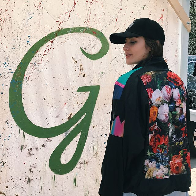 Custom windbreakers by @infiniteexpression go perfectly with our new Melrose Trading Post dad hats!! Come grab a hat at our GREENWAY X Melrose Trading Post Pop Up, located right by the food court!! ...#melrosetradingpost #melrose #fairfax #greenwayartsalliance #losangeles #nonprofit #fleamarket