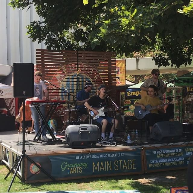 @theblondesmusic are kicking off our Melrose Sunday Concert Line Up!! ..#melrosetradingpost #fleamarket #livemusic #localmusicians #melrose #fairfax #losangeles #lamusic