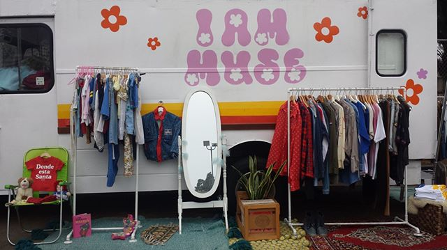 Do you know about the @Iammuseshop? It's one of the cutest trucks in LA! Follow them on Instagram to see when they're at MTP and other awesome stops throughout the city....#iammuse #iammuseshop #melrosetradingpost #featuredvendor #fashiontruck #losangeles