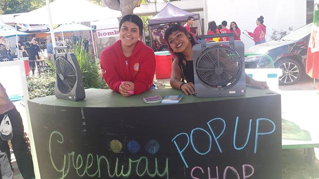 Hey everyone , El here, don't forget to stop by the #Greenway Pop Up Shop♡ #melrosetradingpost #MTPFairfax #greenwayarts