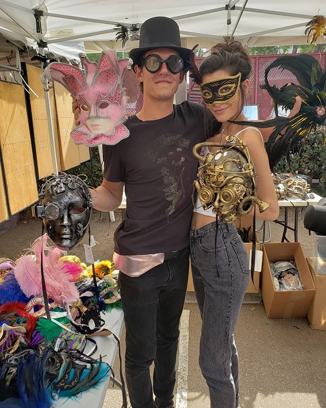 Halloween is right around the corner! Stop by booth G31 near the Melrose entrance for some amazing Halloween costume inspiration with masks provided by Block Party Weho. So so many different styles, colors, shapes and sizes! From elegant, high fashion ones some creepy cool bizarre ones too!#halloween #masks # #losangeles #la #MTPfairfax #Melrose #Fairfax #FleaMarket #MelroseTradingPost #LosAngeles #California #ShopLocal #ShopLocalLosAngeles @blockpartyweho @lexxphillips wade_mcl @pcakes526