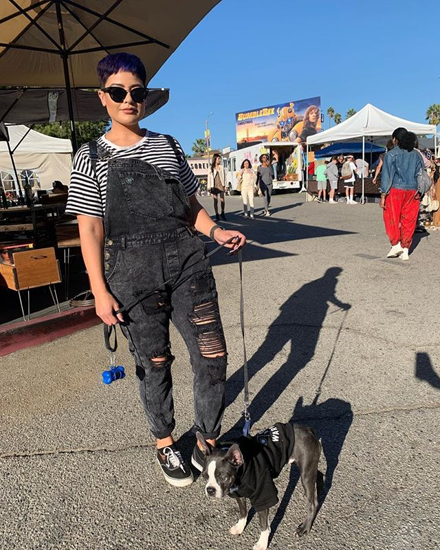 Sunday is coming up fast so get your pooch ready for browsing antiques, clothes, and eating great food #melrosetradingpost #sundayfunday #losangeles #melrose #puppies #glowing #followforfollowback #toocoolforschool