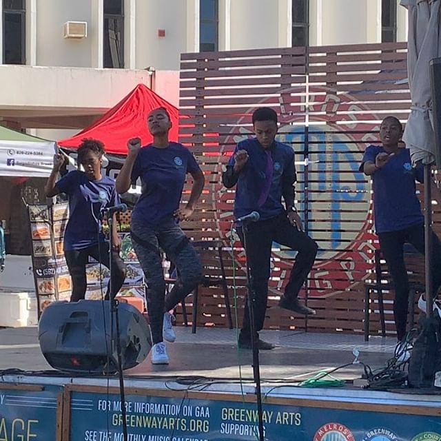 @greenwayartsed student showcase was today at the trading post. The students sang, dance, and act. How amazing is that?!? #performance #dance #melrosetradingpost #cool #melrose #followforfollowback #losangeles #follow #art