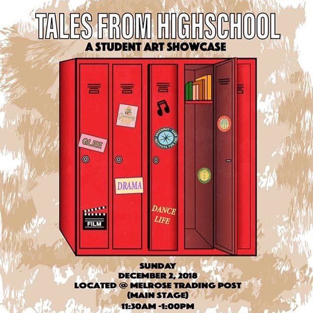 Our student showcase is this Sunday! Are you guys ready for amazing vocals? And other fantastic performances? See you Sunday #melrosetradingpost #sundayfunday #art #performance #dance