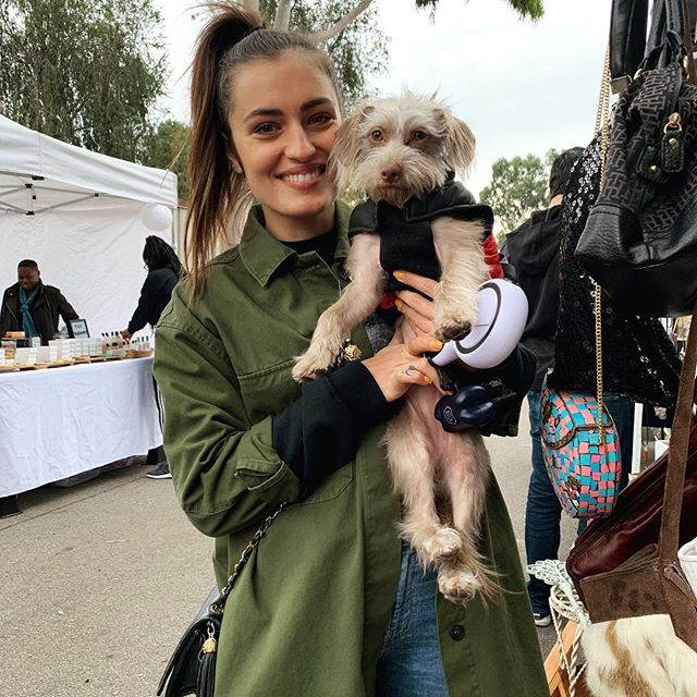 Look at these cuties who visited us today @elma.begovic #melrosetradingpost #sundayfunday #losangeles #dogsofmtp #dogs #pup #cuties #puppylove #adorable